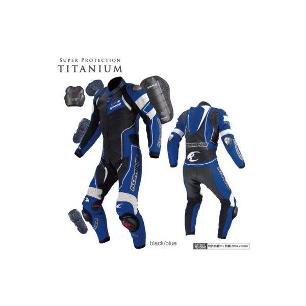 S-49 Titanium Leather Suit-RAPHAEL